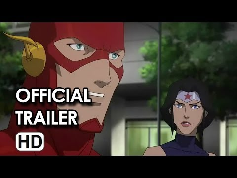 Justice League: War Official Trailer DVD Release (2014) HD