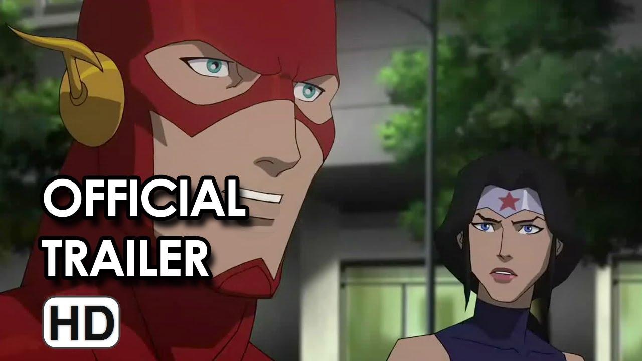 Download Justice League: War Official Trailer DVD Release (2014) HD
