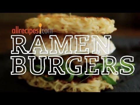 How to Make a Ramen Burger | Ramen Burger Recipe | Allrecipes.com