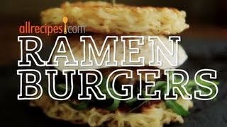 Ramen Burger Recipe - How To Make A Ramen Burger