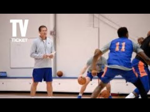 BREAKING NEWS! KNICKS COACH JEFF HORNACEK PUSHED JOAKIM NOAH IN ALTERCATION AT PRACTICE!