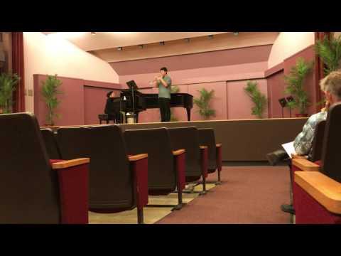 Micah Nishimoto OBDA High School Solo & Ensemble 2017