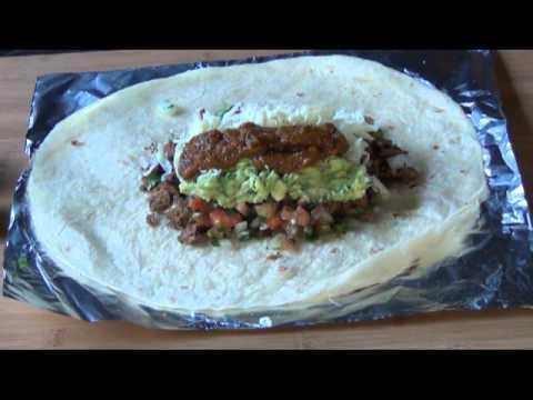 Carne Asada Burrito Crazy Mexican
