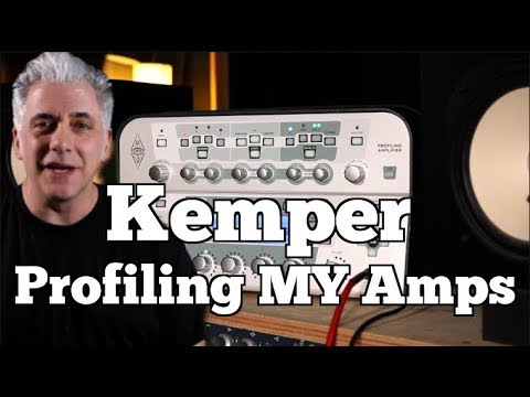Kemper Profiler Amp: Profiling MY Amps Using a KEMPER