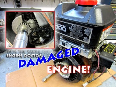 "Diagnosis Of A ""NO-START"" Briggs & Stratton Engine"