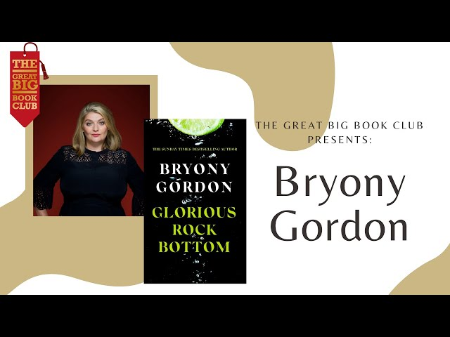 Author of the Week: Bryony Gordon on 'Glorious Rock Bottom'