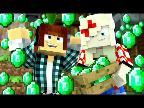Minecraft : ESMERALDAS !! – The Sims Craft 2