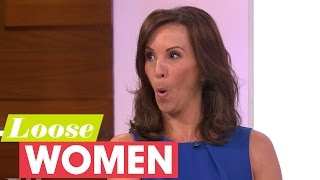 Loose Women Tease Andrea McLean For Being A Goody Two Shoes! | Loose Women