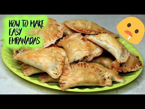 How To Make Easy Beef Empanadas