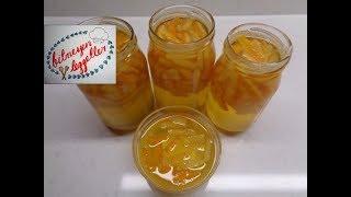 Portakal Reçeli Tarifi - Bitmeyen Lezzetler