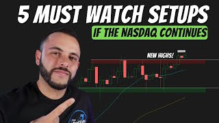 NASDAQ Hit New Highs... 5 Stocks To Watch | Market Technical Analysis