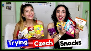 Δοκιμάζουμε Τσέχικα Σνακς || fraoules22