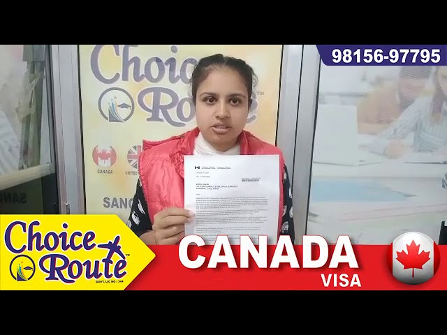 Congratulations to Ms. Veerpal Kaur for her Canada Student Visa