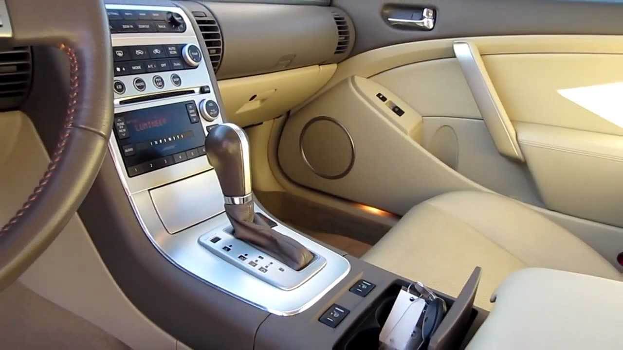 2006 infiniti g35 blue stock a3055a interior youtube. Black Bedroom Furniture Sets. Home Design Ideas