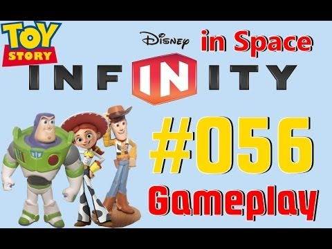 #056-let´s-play-disney-infinity-toy-story-in-space-welt-|-buzz-lightyear.-jessie,-woodie