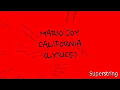 Mario Joy - California (LYRICS)