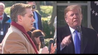 Trump has meltdown over Jim Acosta's national emergency question