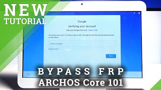 How to Bypass Google Verification in ARCHOS Core 101 3G – Unlock FRP | Remove Google Lock