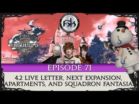 FFXIV 4.2 Live Letter, Next Expansion, Apartments, and Squadron Fantasia? | SoH | Episode 71