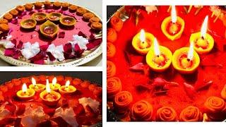 DIY-beautiful thali decoration/ Raksha Bandhan thal decoration/ thali decoration competition