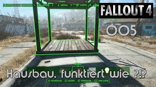 FALLOUT 4 GAMEPLAY [GERMAN][PS4][05] ★ Hausbau, funktioniert wie ?!? ★ Let´s Play FALLOUT 4