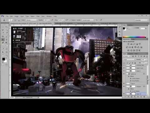 Transformer Speed Art - Photoshop