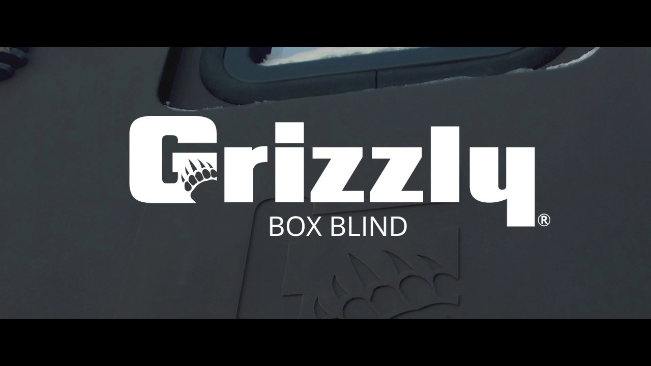 Grizzly Box Blind_Muzzleloader Version