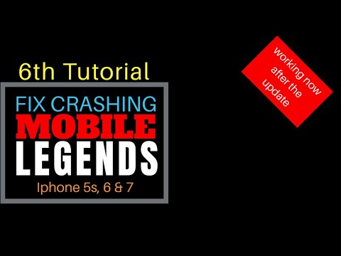 How To Fix CRASHING In Mobile Legends 2020 | Remove The Mid Game Crashing