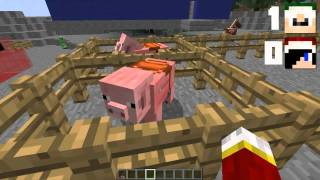 Minecraft Challenges Episode 2: Zoophilia [FR] [HD]