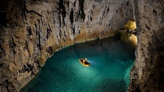 Underground rivers, lakes, and civilizations