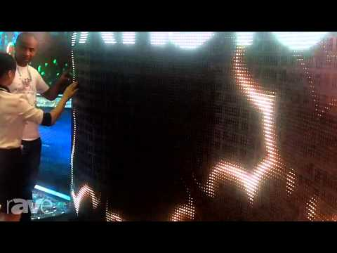 InfoComm 2013: Shenzhen GCL Electronics Presents Flexible LED Curtain