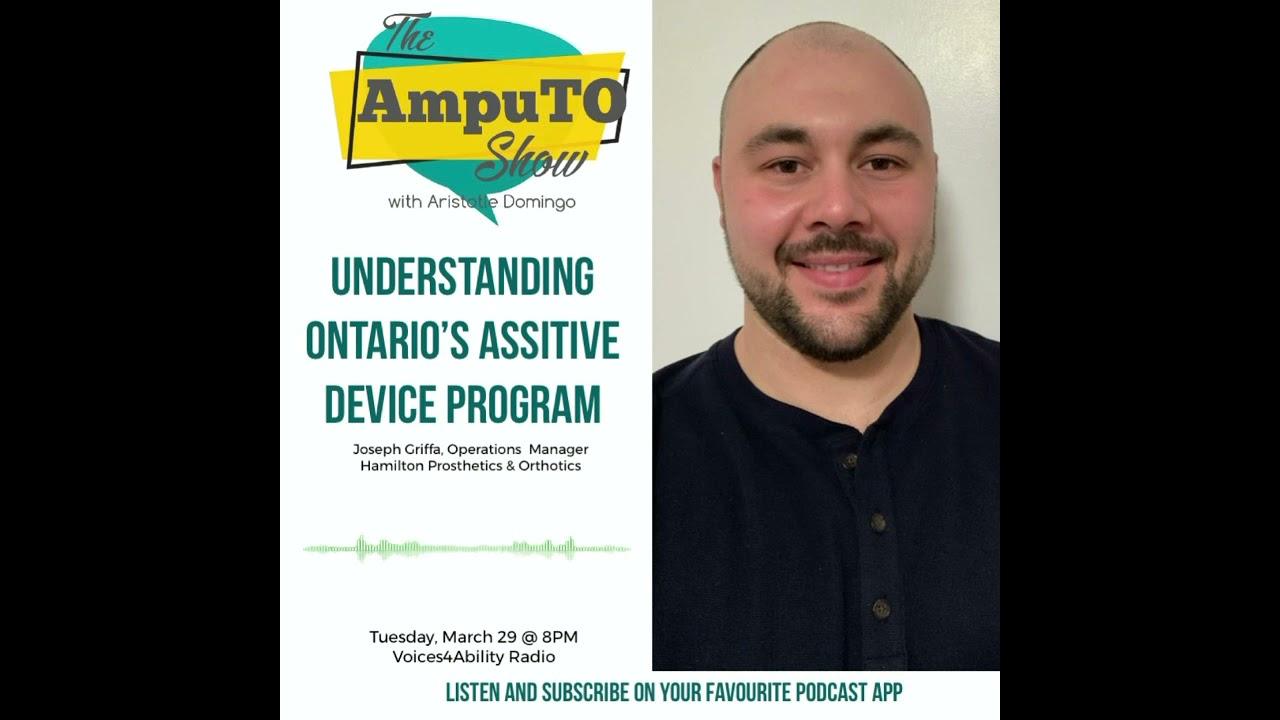 The AmpuTO Show: Understanding Ontario's Assistive Device Program for Amputees