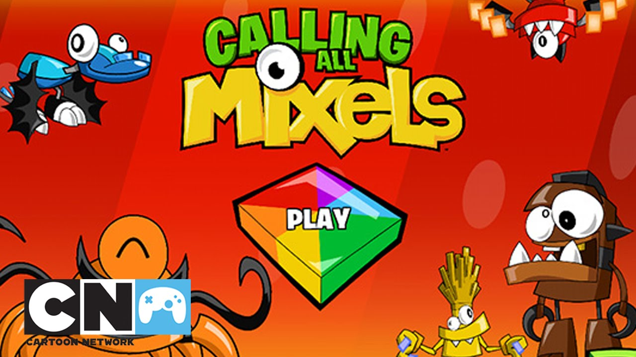 Calling All Mixels 20 Aplikacja Mobilna Cartoon Network Youtube
