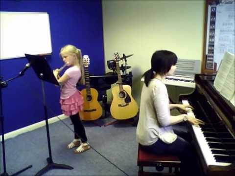 Flute   Liza  Tap Dancing Team    A to G Music School   Sutton   Teacher   Lessons