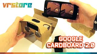 Обзор VR очков Google Cardboard 2.0 v2