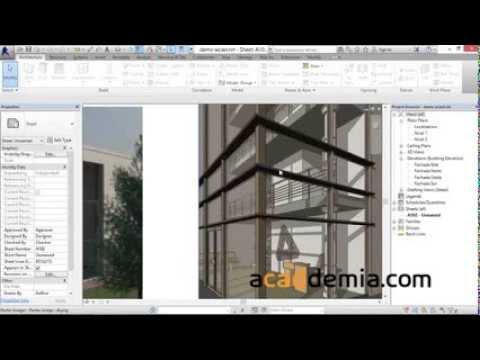 Revestimientos de fachada en REVIT Architecture