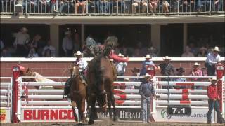 Day 4 rodeo highlight action from the Calgary Stampede -- July 7, 2014