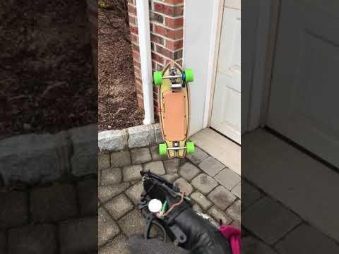 Electric skateboard glove prototype