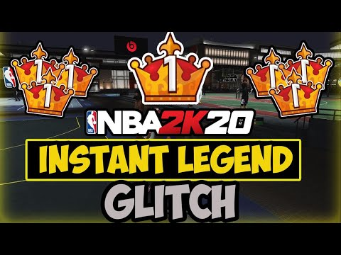 NBA 2K20 Instant Legend Rep Glitch (PS4 & XBOX) | NEW Rep Glitch NBA 2K20