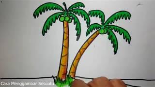 Download lagu cara menggambar pohon kelapa