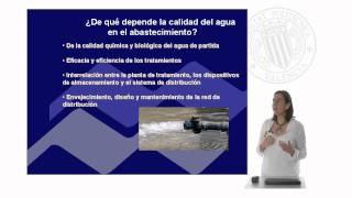Calidad de aguas. Las fuentes de suministro.© UPV