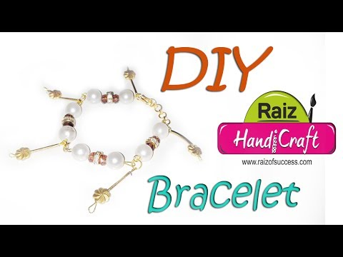 DIY : how to make Bracelet at home whit pearl Art With Creation | #69