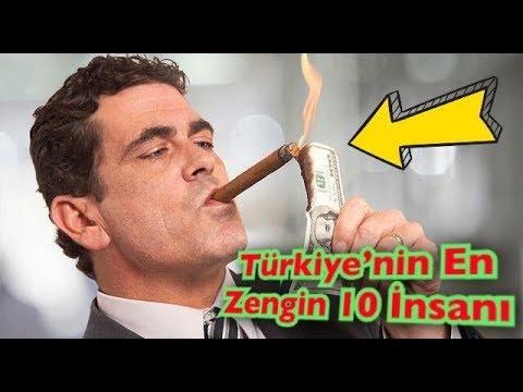 TÜRKIYE'NIN EN ZENGIN 10 INSANI !!!