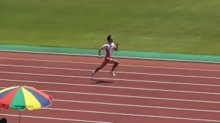 2015東日本実業団 男子200m 予選4組 高瀬慧選手20秒52