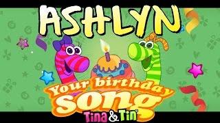 tina tin happy birthday ashlyn