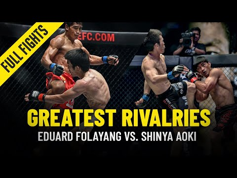 Eduard Folayang vs. Shinya Aoki | Greatest Rivalries | ONE Full Fights