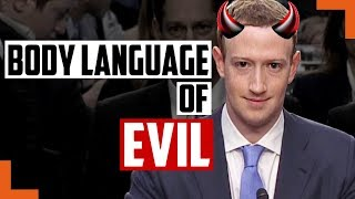 The 5 Reasons Why Mark Zuckerberg Appears EVIL - Body Language Secrets