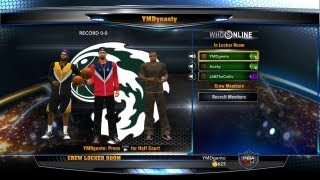 NBA 2K14 Crews Mode Gameplay - First Game Online! Down To The Wire!