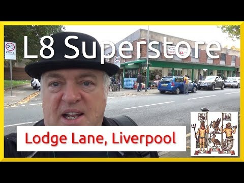 Liverpool: L8 Superstore & Lodge Lane Toxteth Shopping Haul