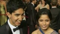 Slumdog Millionaire actors Dev Patel and Freida Pinto